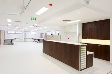 Strathfield Private Hospital – Operating Theatre & Recovery