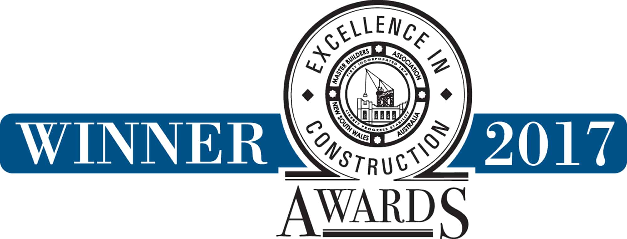 Winner excellence in construction 2017