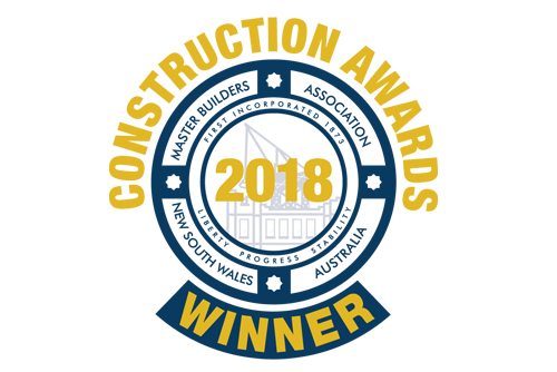 Winner excellence in construction 2013